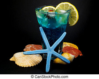 Cocktails Collection - Blue Lagoon