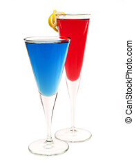 Cocktails Collection - Champagne Blues and Kir Royale