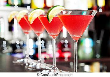 Cocktails collection - Cosmopolitan - A cosmopolitan, or...