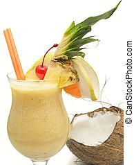 Cocktails Collection - Pina Colada - Ingredients: 2 oz rum 5...