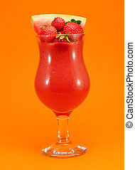 Cocktails Collection - Strawberry and Watermelon Smoothie