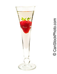 Cocktails Collection - Strawberry Champagne