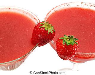 Cocktails Collection - Strawberry Margarita & Daiquiri