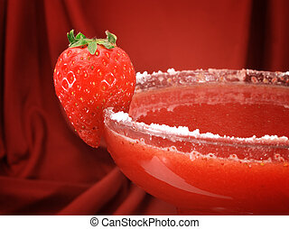 Cocktails Collection - Strawberry Margarita