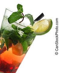 Cocktails Collection - Strawberry Mojito
