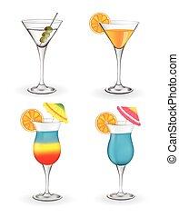 Cocktails set
