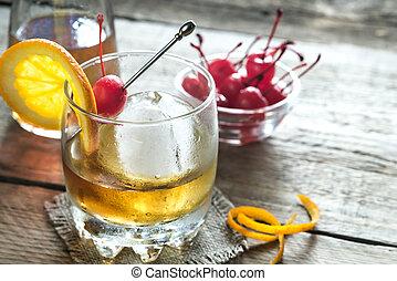 cocktails, vieux façonné