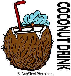 coco, bebida