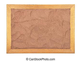 Cocoa in frame
