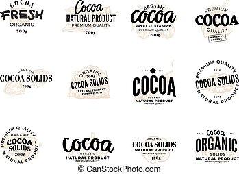 Cocoa Logo Set