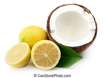 Coconut and lemons