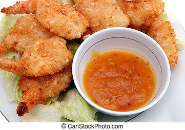 coconut breaded shrimp