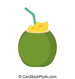 Coconut cocktail image