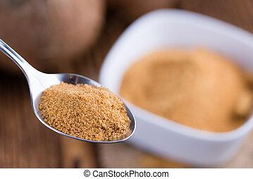 Coconut Palm Sugar (selective focus)