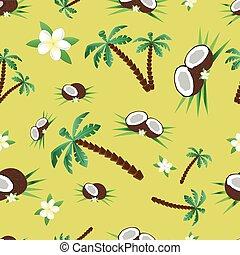 Coconut pattern