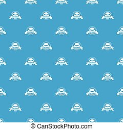 Coconut pattern vector seamless blue