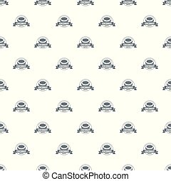 Coconut pattern vector seamless