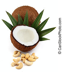 Coconut with cashew