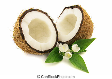 Coconut with jasmine