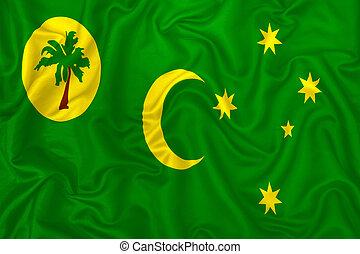 Cocos (Keeling) Islands flag