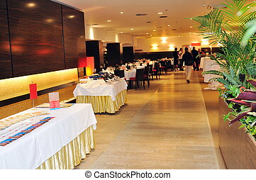 coctail and banquet catering party event at beautiful hotel...