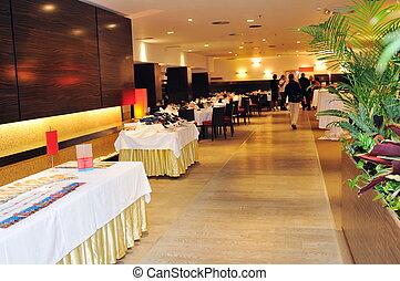 coctail, y, banquete, abastecimiento, fiesta, acontecimiento