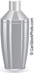 coctelera, cóctel, clásico
