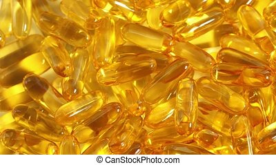 cod liver oil capsules - medicine, healthcare and pharmacy...