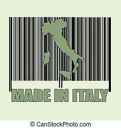 codbare made in italy stamp