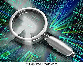 code, analyzing