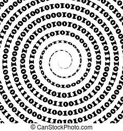 code binaire, fond