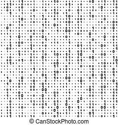 code binaire, seamless, fond