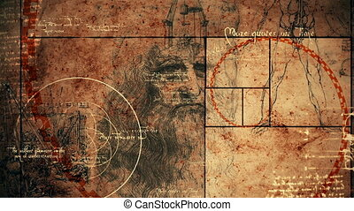 """Code Da Vinci with Vitruvian Man"" - ""An amazing 3d..."