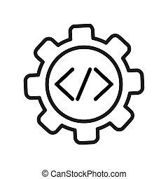 code engineering illustration design