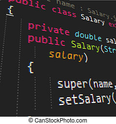code, java