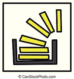 Code, logo, overlow, social, social media, stack, stackoverflow.Realistic shiny badge icon or logo mockup