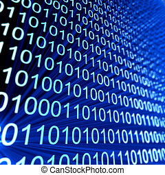 Code numbers. Computer data coding