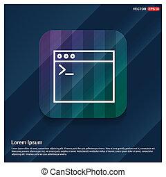 code, programmering, pictogram