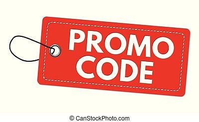 code, promo, prijs, etiket, label, of