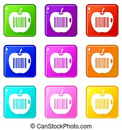 Code to represent product identification 9 set - Code to...