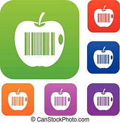 Code to represent product identification set color...