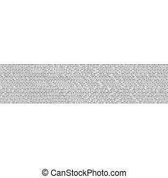codice binario, astratto, vettore, fondo