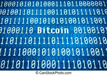 codice binario, parola, centro, bitcoin