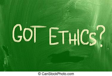 codice, etica, concetto