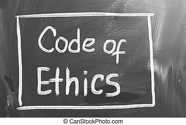codice etica, concetto