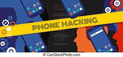 codice, intimità, mobile, dati, cyber, crimine, telefono, digitale, incisione, tecnologia, sicurezza, far male