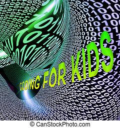 Coding For Kids Children Programming 3d Rendering