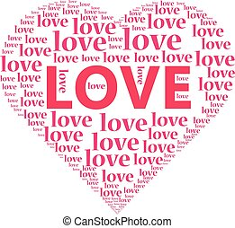 coeur, amour, illustration