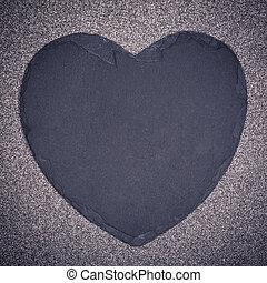 coeur, ardoise
