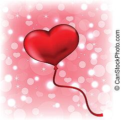 coeur, balloon, forme